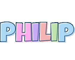 Philip pastel logo