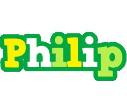 Philip soccer logo