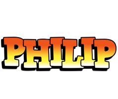 Philip sunset logo