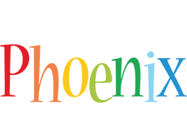 Phoenix birthday logo