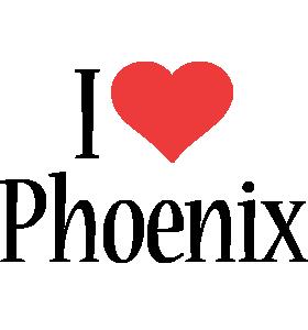 Phoenix i-love logo
