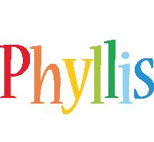 Phyllis birthday logo