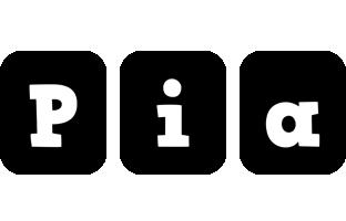 Pia box logo
