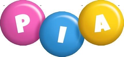 Pia candy logo