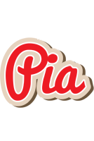 Pia chocolate logo