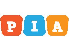 Pia comics logo