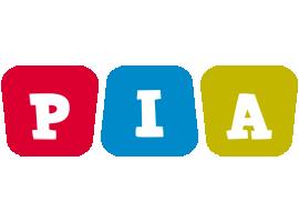 Pia daycare logo