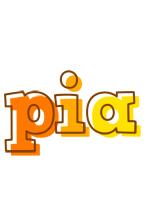 Pia desert logo