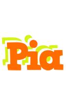 Pia healthy logo