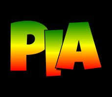 Pia mango logo