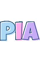 Pia pastel logo