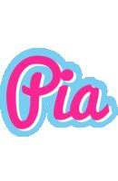 Pia popstar logo