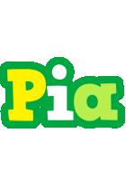 Pia soccer logo