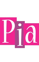 Pia whine logo