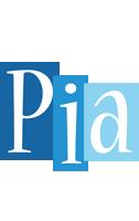 Pia winter logo