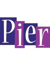 Pier autumn logo