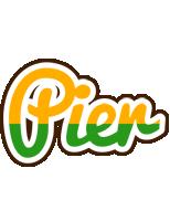 Pier banana logo