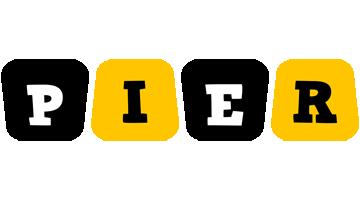 Pier boots logo