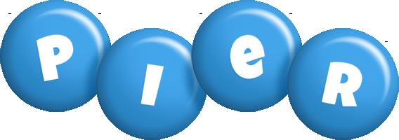 Pier candy-blue logo