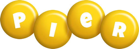 Pier candy-yellow logo