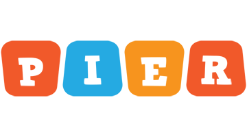 Pier comics logo