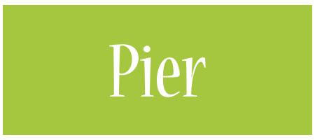 Pier family logo