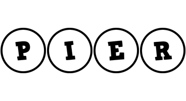 Pier handy logo
