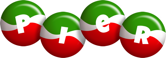 Pier italy logo
