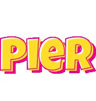 Pier kaboom logo