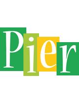 Pier lemonade logo