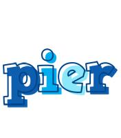 Pier sailor logo