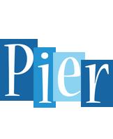 Pier winter logo