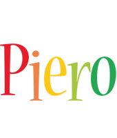 Piero birthday logo