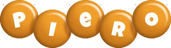 Piero candy-orange logo