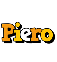 Piero cartoon logo