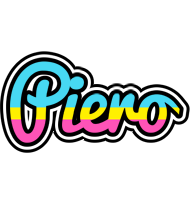 Piero circus logo