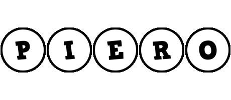 Piero handy logo