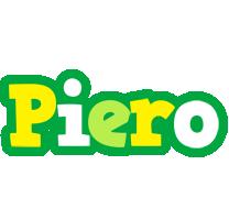 Piero soccer logo