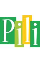 Pili lemonade logo