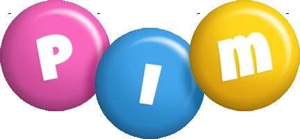 Pim candy logo