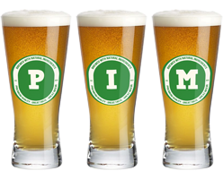 Pim lager logo