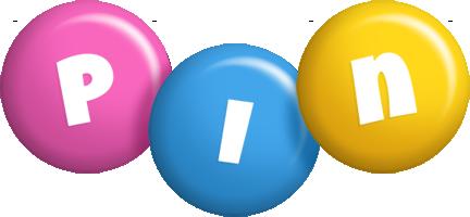Pin candy logo