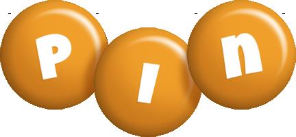 Pin candy-orange logo