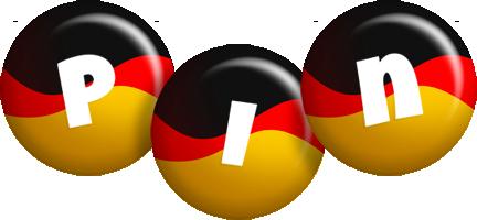 Pin german logo