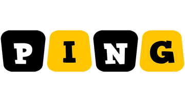 Ping boots logo