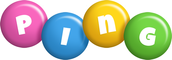Ping candy logo