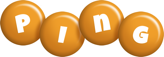 Ping candy-orange logo