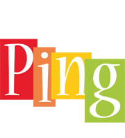 Ping colors logo