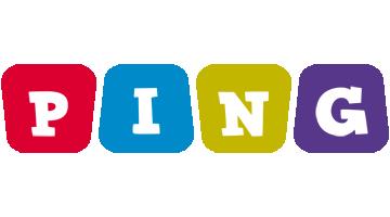 Ping daycare logo