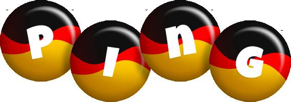 Ping german logo